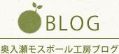 BLOG 奥入瀬モスボール工房ブログ